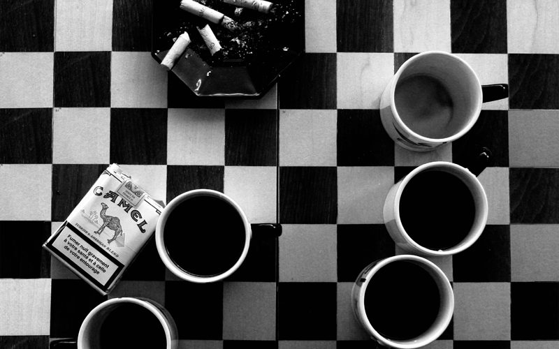 チェスって、スカしてる?